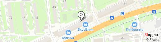 АТЕЛЬЕ-А на карте Пскова