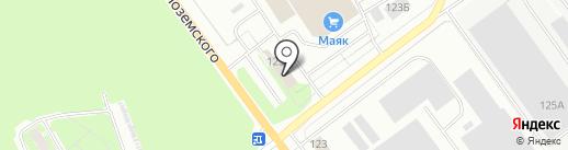 Служба доставки воды на карте Пскова