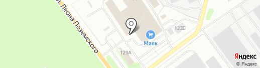 MUL-T-LOCK на карте Пскова