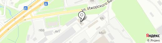Оконное меню на карте Пскова