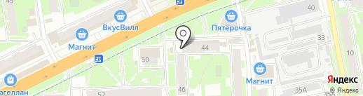 Магазин детской обуви на карте Пскова