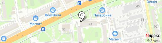 Будь здоров! на карте Пскова