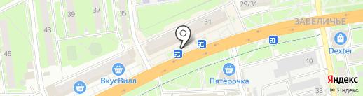 Евросеть на карте Пскова