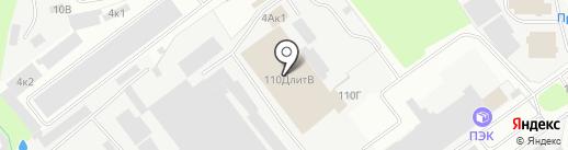 Альфа на карте Пскова