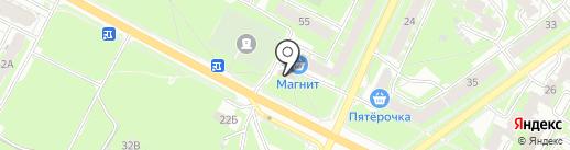 Аптечный пункт на карте Пскова