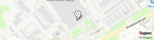 ТМ на карте Пскова