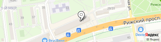 ПсковСметаИнформ на карте Пскова