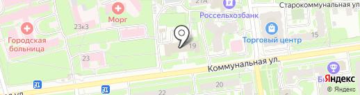 Эма на карте Пскова