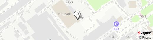 Торгово-производственная компания на карте Пскова