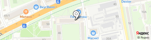 Аптека 003 на карте Пскова