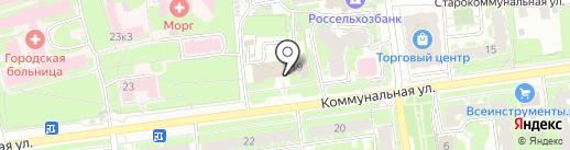Региональное отделение Псковской области на карте Пскова