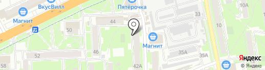 Рыболов на карте Пскова