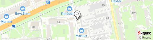 Одежда и обувь для всей семьи на карте Пскова