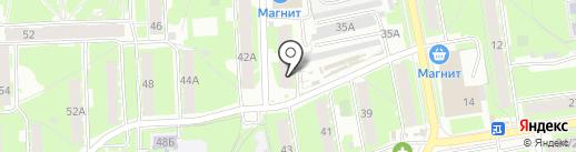 Магазин памятников и ритуальных товаров на карте Пскова