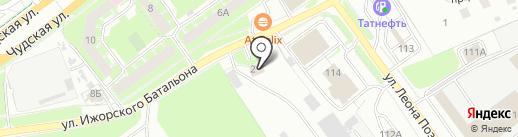 ТрансСигнал на карте Пскова
