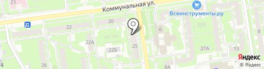 Visa на карте Пскова