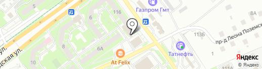 Закусочная на карте Пскова