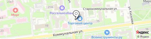 Перспектива на карте Пскова