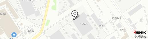 Псковская фабрика дверей на карте Пскова
