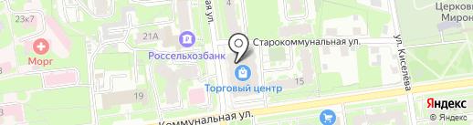 Дорожное радио, FM 107.6 на карте Пскова