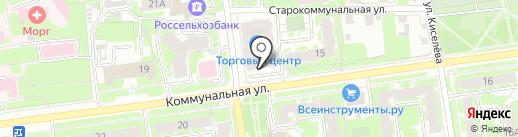 Лит.Ra на карте Пскова