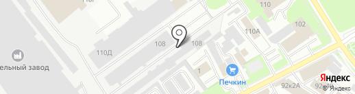 Компания Техно-Лэнд на карте Пскова