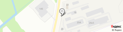 Псковское лесничество на карте Пскова