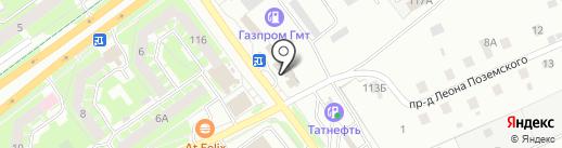 АВТОБАТ на карте Пскова