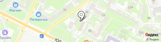 АВТЭКС на карте Пскова