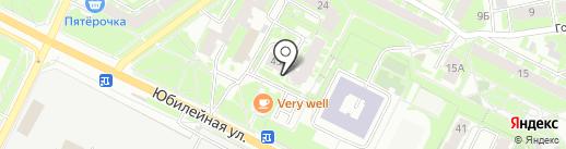 Псковский таможенный терминал на карте Пскова