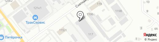 ПСВ-Инжстрой на карте Пскова