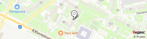 Квестмаг на карте Пскова