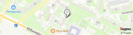 Сервис-Лайн на карте Пскова