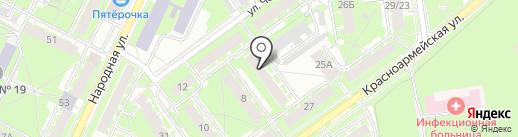 Автомаркет на карте Пскова