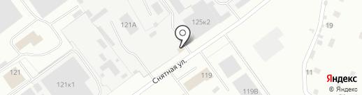 Автоцентр на карте Пскова