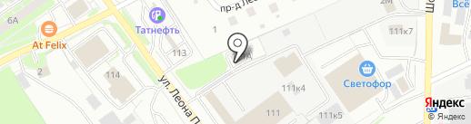 ЭКОНОМЬ на карте Пскова