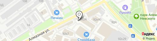 Husqvarna на карте Пскова