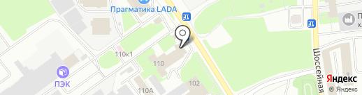 Стройнаходка на карте Пскова