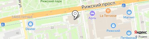 Элит на карте Пскова