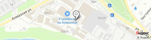 Промэкстра на карте Пскова