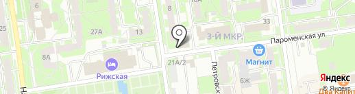 ВымпелКом, ПАО на карте Пскова
