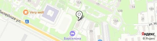PSK Apart на карте Пскова