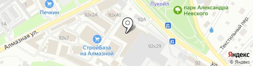 Энергия плюс на карте Пскова