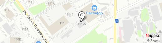 ЕвроСервис на карте Пскова