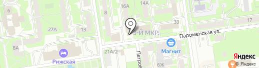 Платежный терминал, Мособлбанк, ПАО на карте Пскова