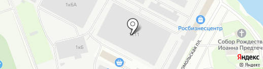 Завод радиодеталей на карте Пскова