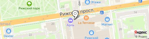 Ми-ми-мишки на карте Пскова