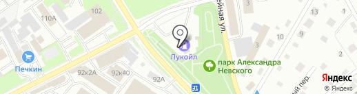 Sibylla на карте Пскова