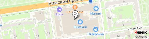 ФинСервис на карте Пскова