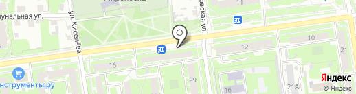 Орхидея на карте Пскова